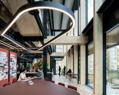 Gensler has completed the historically-inspired design and architecture for their offices located in London, England. - Gensler: Acts like a Portfolio Architect, Architect Design, Architecture Today, Landscape Architecture, Contemporary Architecture, Temporary Office Space, Corporate Office Design, Workspace Design, Global Design