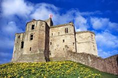 WARKWORTH CASTLE (Northumberland, England)  Robert De Clavering (23rd great grandfather) was born here in 1137