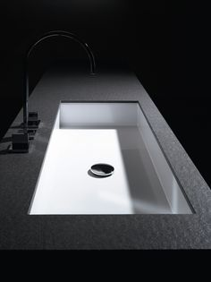 Dark and Clean Washstand | Alape