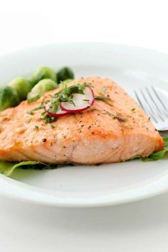 """""""This fish is a great source of omega-3 fatty acids,"""" says registered dietitian Erin Palinski-Wade, ... - Getty Images"""