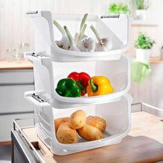 Küchen-Stapel-Boxen