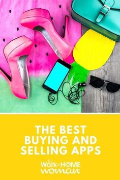 Whether you're looking to make space or money, here are 9 of the best buying and selling apps you can easily download and start using today. #extramoney #online #selling Work From Home Moms, Make Money From Home, How To Make Money, Consignment Shops, Consignment Online, Sell Your Stuff, Stuff To Buy, Selling Apps, Virtual Garage Sale