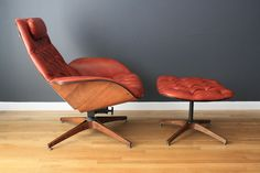 Vintage Lounge Chair and Ottoman by George Mulhauser for Plycraft image 2