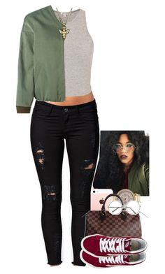 """Untitled #1429"" by toniiiiiiiiiiiiiii ❤ liked on Polyvore featuring Notion 1.3, Golden Goose, Michael Kors, Louis Vuitton and Vans"