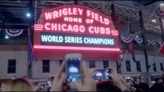 I grew up listening to Harry Caray call Cubs games on WGN, so this hits home. He was a Cubs fan and a Bud man. Budweiser Commercial, Think With Google, Cubs Games, Chicago Pictures, Last Game, Game 7, Chicago Cubs World Series, Cubs Win, Cubs Baseball