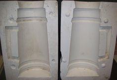 "Ceramic Mold Molds LARGE PLAIN STEIN 13.5"" tall Western 375a | eBay"