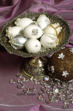 decorated eggs - sofreh aghd by sofrehatelier, via Flickr
