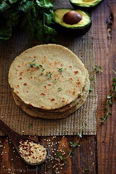 Gluten-Free Quinoa and Brown Rice Tortillas Recipe