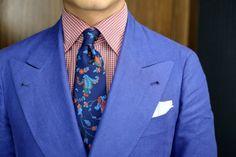 Nice tie.