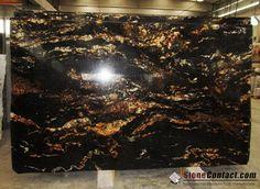 Black Fusion Granite Pictures, Additional Name, Usage, Density, Suppliers - Ston. Granite Slab, Granite Kitchen, Kitchen Countertops, New Kitchen, Kitchen Ideas, Marble Slabs, Granite Tops, Kitchen Stuff, Types Of Granite