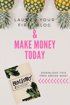 BLOGSTART: Launch your first blog and make money now free ebook blogging tips blog tips how to make money from blog profitable blog how to set up blog in 7 days week Cityscape Bliss // blog cheat sheet Make Money Today, Make Money From Home, How To Make Money, Creating Passive Income, Work From Home Business, Work From Home Opportunities, Blog Images, Free Blog, Blogging For Beginners