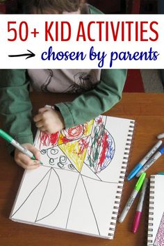 The top kids activities chosen by parents over the last year. Great variety of ideas to keep kids busy.