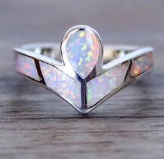 BACK IN STOCK || Angel Opal Ring || Available in our 'Mermaid' Collection