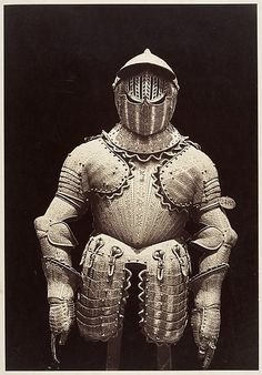 [The Armor of Philip III] Charles Clifford  (Welsh, 1819–1863) Date: 1866 Medium: Albumen silver print from glass negative MET