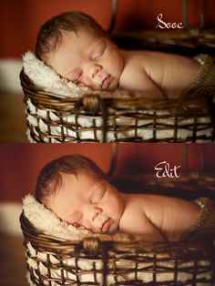 before and after Artsy Fartsy, Bassinet, Photography, Ideas, Home Decor, Fotografie, Photograph, Decoration Home, Photo Shoot