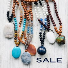 off Sale ends Sunday, October at midnight. Receive a FREE pair of gemstone studs with every purchase. Gemstone Bracelets, Gemstone Earrings, Beaded Necklace, Necklaces, Crystal Jewelry, Boho Jewelry, Handmade Jewelry, Calming, Rose Quartz