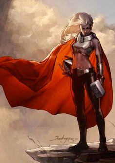 <<< Nope this is Marvel Now Thor, Jane Foster now holds the mantel of Thor: Goddess of Thunder Marvel Dc Comics, Heros Comics, Bd Comics, Comics Girls, Marvel Art, Marvel Heroes, Thor Marvel, Thor 2, Comic Book Characters