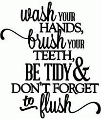 Image Result For Free Svg Bathroom Sayings Vinyl Wall Lettering