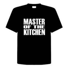 MASTER OF THE KITCHEN Funny T-Shirt Novelty Kitchen, Cooking, Chef, Adult Tee Shirt Size (2X) XX-Large; Great Gift Idea for Mens, Youth, Teens, Adults