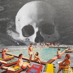"Saatchi Online Artist Steven Quinn; Collage, ""tttt"" #art"