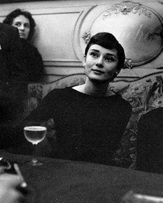 Audrey Hepburn photographed by Jack Garofalo, 1955