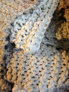 BLANKET - made entirely from I-cord