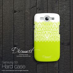 Lace Samsung galaxy S3 case Samsung galaxy S4 case by Decouart, $24.99