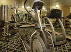 Stay fit by using our complimentary fitness room.