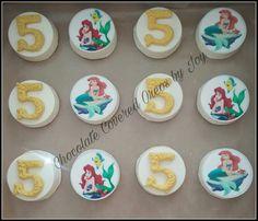 Ariel birthday oreos