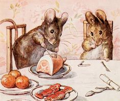 The mice of Beatrix Potter