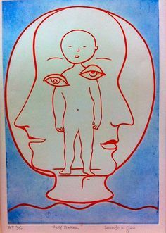 Self-portrait, 1990 by Louise Bourgeois on Curiator, the world's biggest collaborative art collection. Louise Bourgeois Art, Modern Art, Contemporary Art, Illustration Photo, Feminist Art, Collaborative Art, Jackson Pollock, Keith Haring, Grafik Design