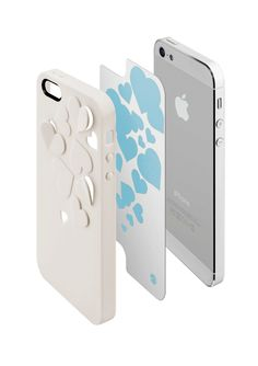 """Accessorize Your Case - KIRIGAMI™ designed with some specially arranged 3D cutouts, in which we have provided interchangeable PET backing sheet for a different """"Look"""" effect. The cutouts are fully covered with the PET backing sheet so your iPhone is also fully protected.  The finishing of KIRIGAMI ™ is treated with a specialized protective rubber coating that offers a high-design contrast with the glimmer from the backings of the cutouts. The overall result is a trendy case with fashion in…"""