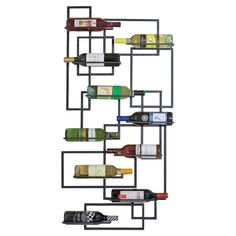 Andrina Wall Wine Rack