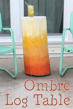Ombre Log Table