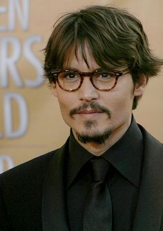 """Johnny Depp - check out his quote under my """"Quotes"""" board :)"""