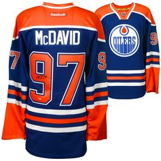 75f87846 Home NHL Reflector Fashion Jerseys. Connor McDavid Edmonton Oilers  Autographed Blue Reebok ...