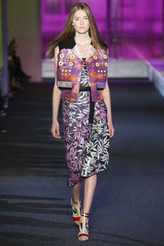 London Fashion Week Day 4  Peter Pilotto Spring/Summer 2015  Ready to wear  15 September 2014
