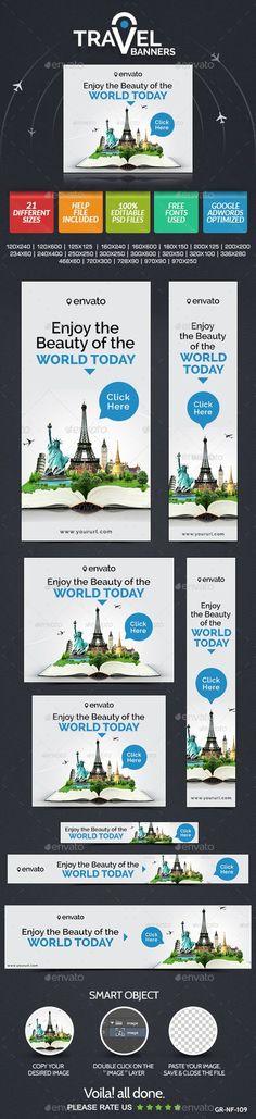 Travel & Tourism Web Banner Design Set   Buy and Download: http://graphicriver.net/item/travel-tourism-web-banner-design-set/9060467?WT.ac=category_thumb&WT.z_author=doto&ref=ksioks: