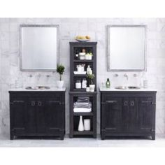 "Check out the Native Trails BNDA81 Americana 12 Piece 32"" Vanity Set - Vanity Top Included"
