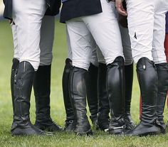 Real riding boots . . .