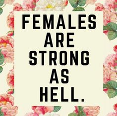 Printable Quotes - Printable Art - Instant Download - Females Are Strong As Hell - Feminism Print - Feminism Quote Print - Feminism Quote