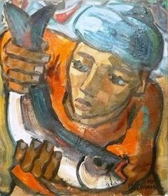 Man with fish Hennie Niemann Art Pictures, Art Pics, South African Art, Africa Travel, Artists, Followers, Cards, Southern, Photography