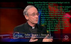 Father Thomas Reese on Paul Ryan's budget...