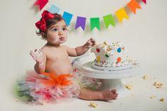 Branford CT Cake Smash Photographer | Chloe & Christiano – Maler Photography
