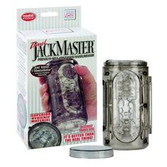 Travel Jackmaster - Smoke - Mastorbator for men / Masturbátor pro muže