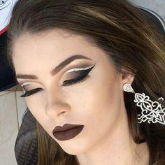 """103 curtidas, 4 comentários - Elaine Calligioni (@calligionielaine) no Instagram: """"Makeup realizada no Curso Profissional c @juliana.rufino.585  e @naabykarisa_  Batom  luxooo  e…"""""""
