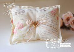 Porta Aliança Carta de Amor  <3 www.chicnoultimo.com
