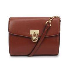d7f89d347c1 Cheap Michael Kors Hamilton Traveler Small Brown Crossbody Bags Clearance  Handbags Michael Kors, Michael Kors