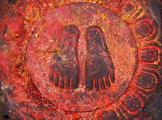 Photograph The Holy Buddha Feet - Nepal, Kathmandu, Swoyabhunath by Anastasiya Kononenko on 500px