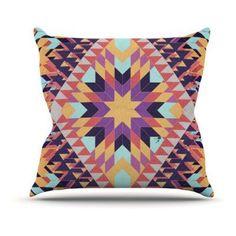 Kess InHouse Danny Ivan Ticky Ticky Indoor/Outdoor Throw Pillow - DI1010AOP05